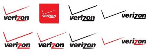 Histoire du logo Verizon