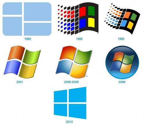 Histoire du logo Windows