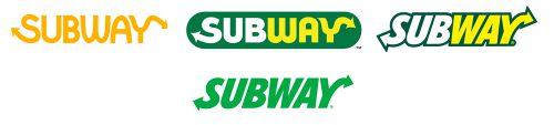Histoire logo Subway