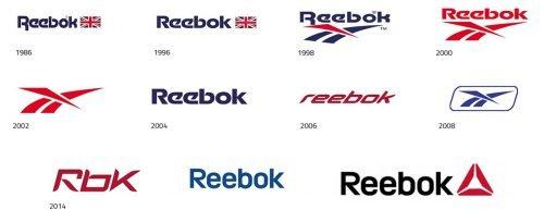 Histoire du logo Reebok
