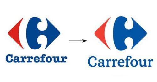 Histoire du logo Carrefour