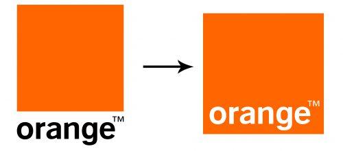 Histoire du logo Orange