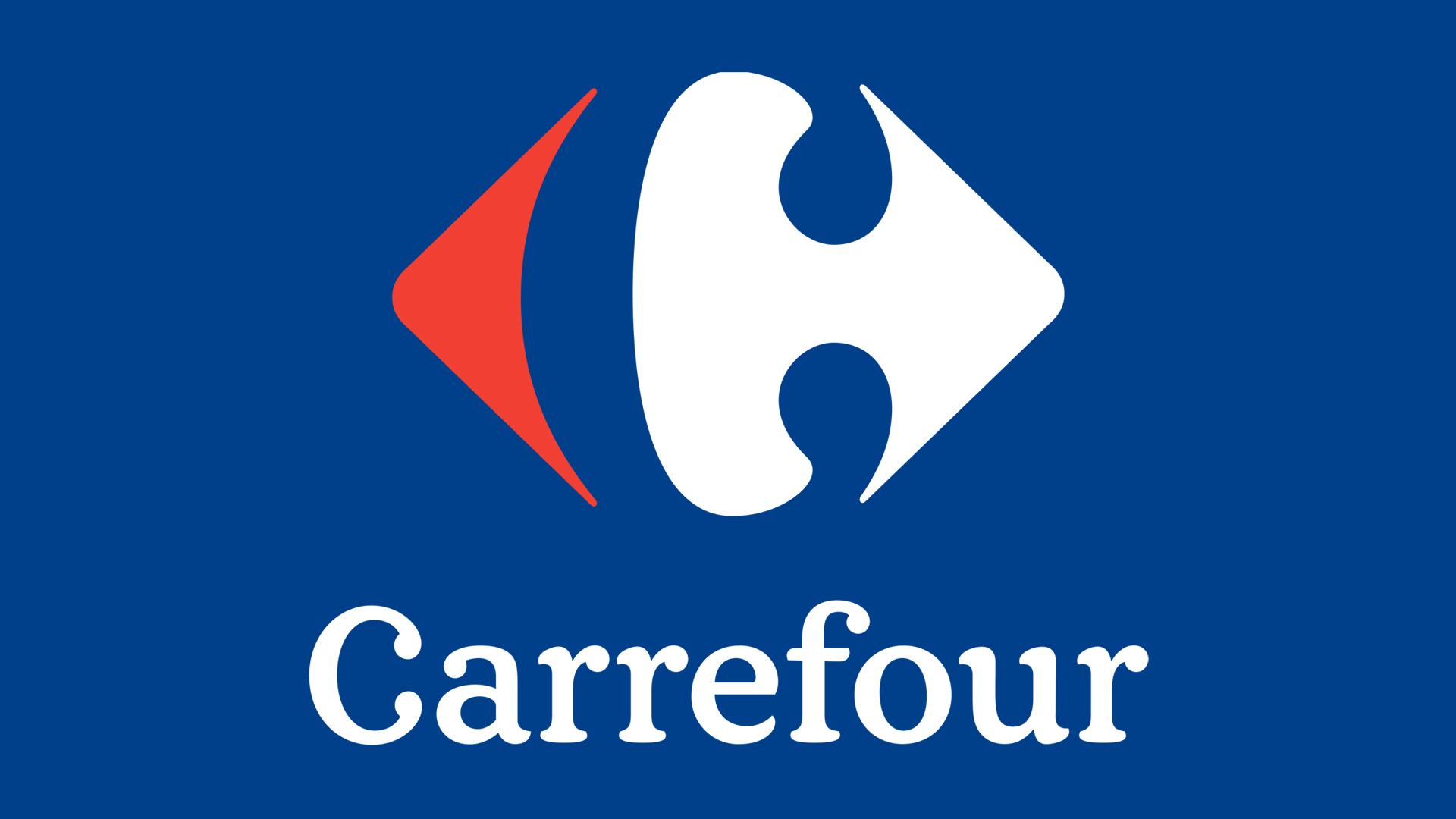 Logo carrefour fond transparent
