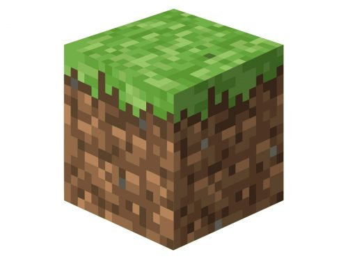 Minecraft logos