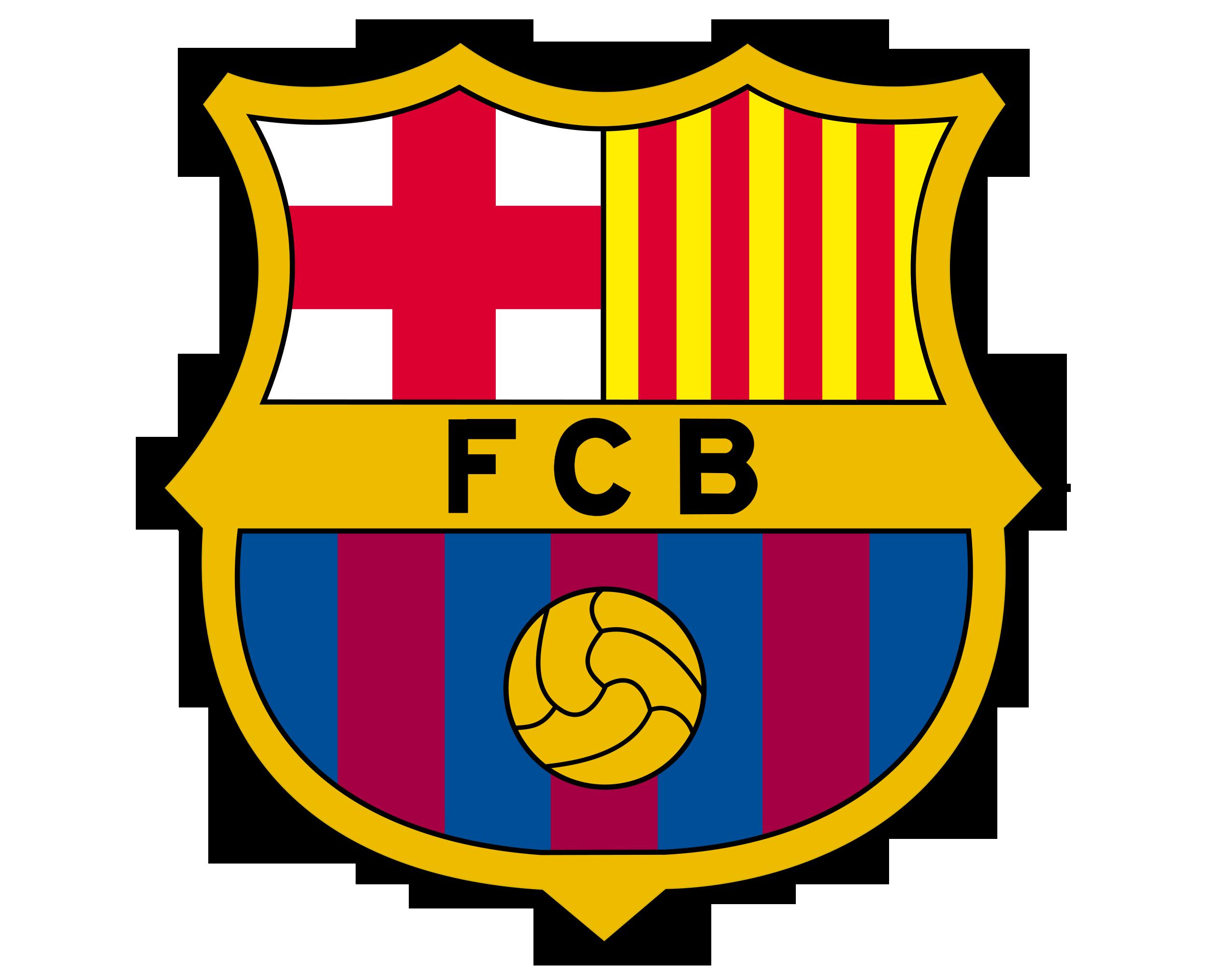 Fc barcelona logo histoire et signification evolution symbole fc barcelona - Logo club foot bresil ...