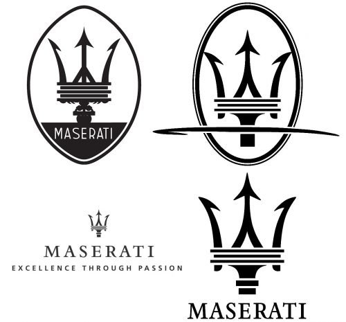 Maserati symbole