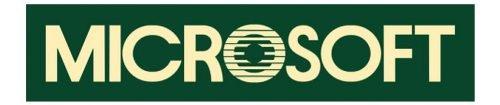 Logo Microsoft 1982-1987