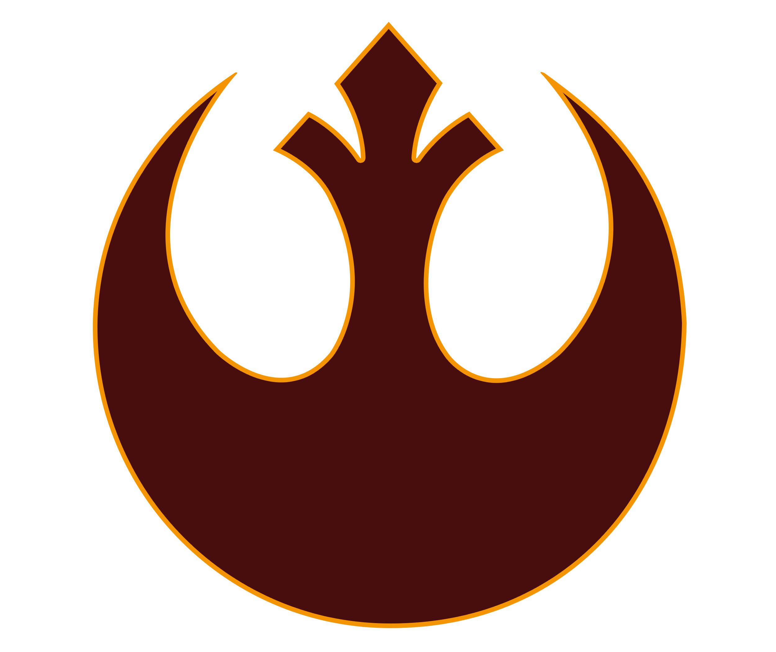 Logo star wars histoire image de symbole et embl me - Republic star wars logo ...