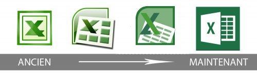 Histoire logo Excel