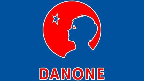 Couleur logo Danon