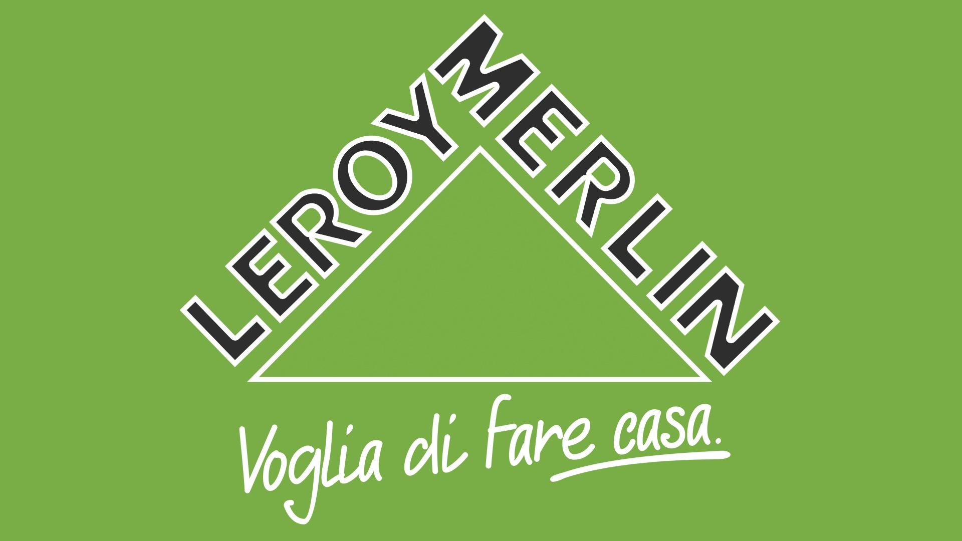 Leroy merlin logo histoire et signification evolution for Marlen leroy