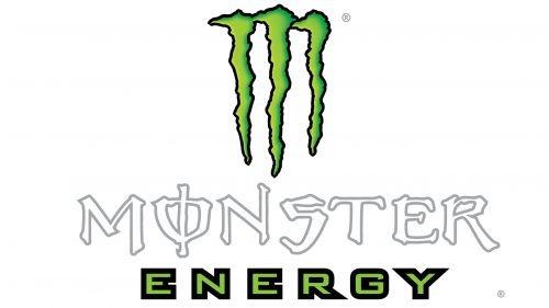 Couleur logo Monster Energy