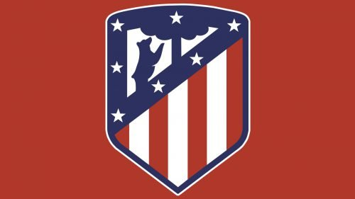 Couleurs logo Atletico Madrid