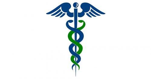 Bâton d`Asclépios logo