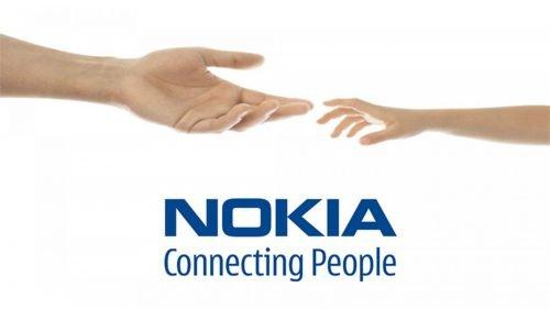 nokia hand logo