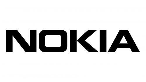 nokia logo black
