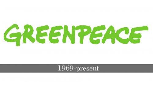 Histoire logo Greenpeace