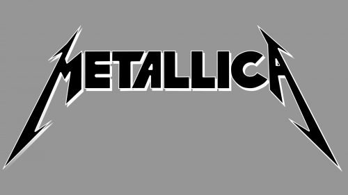 metallic logo