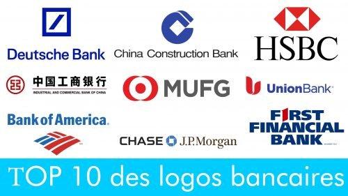 ТOP 10 des logos bancaires