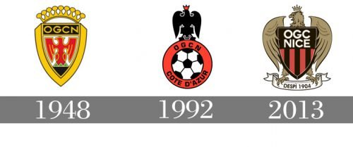 Histoire logo Nice