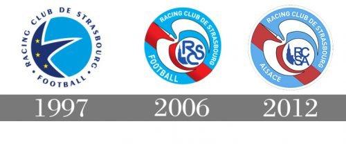 Histoire logo Strasbourg