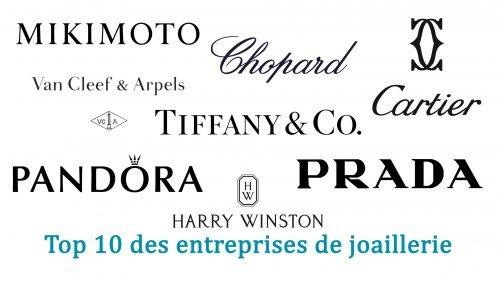 Top 10 des entreprises de joaillerie