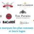 🍷 Top 10 des marques les plus connues de l'alcool et leurs logos