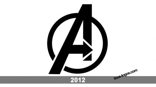 Histoire logo Avengers