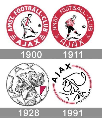 Ajax Logo histoire