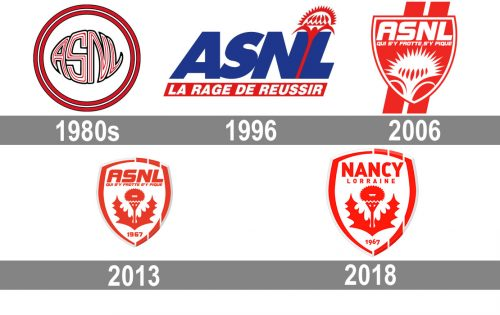 AS Nancy Logo histoire