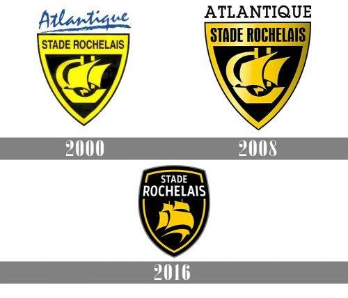 Stade Rochelais Logo history