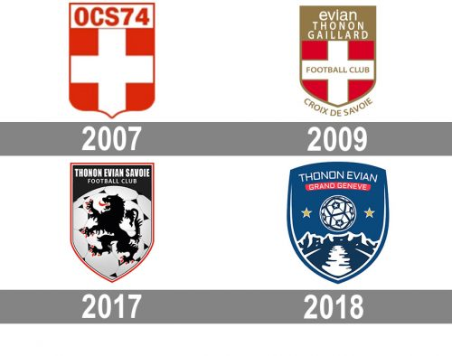 Thonon Evian FC Logo histoire