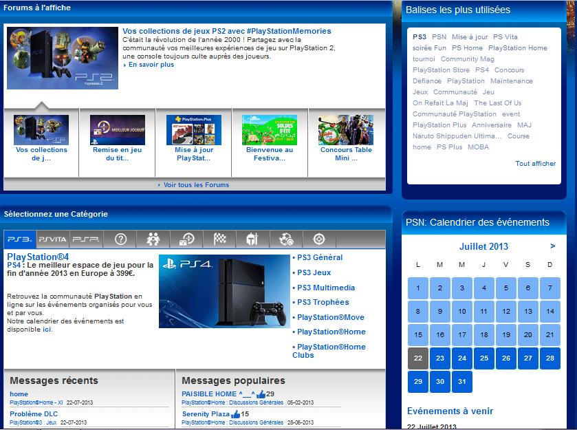 Communauté PlayStation