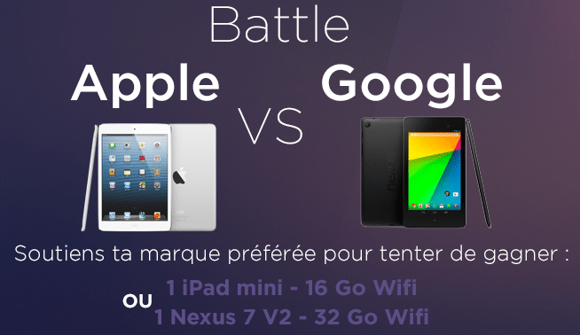 La Battle Apple vs Google