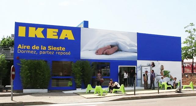 Ikea Aire de Repos Façade - Evénementiel - IKEA ce n'est pas que des prix bas