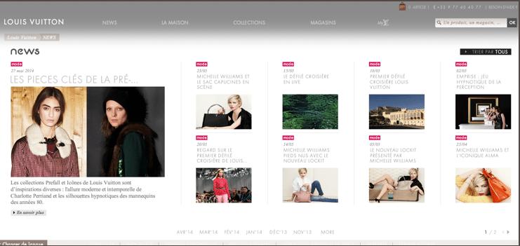 Un magasin magazine en ligne