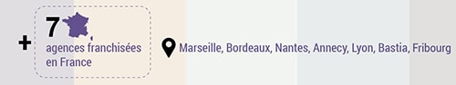 7 Agences régionales 1min30