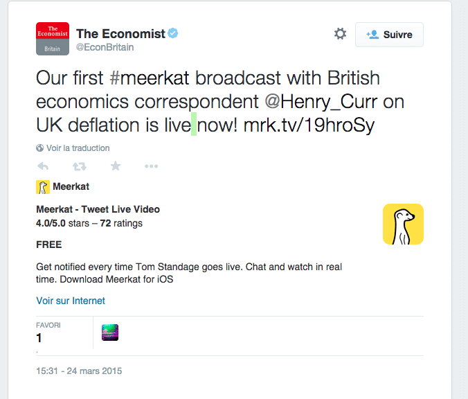 TheEconomist Meerkat UK Deflation