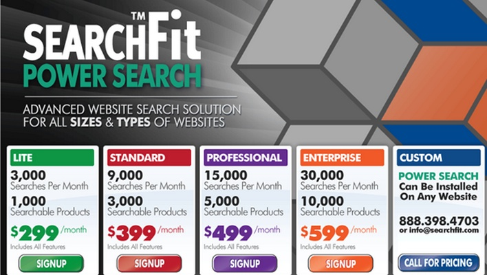 Search Fit pricing page